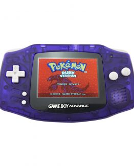 Nintendo Game Boy Advance with Backlight Mod