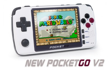 NEW BittBoy PocketGo V2